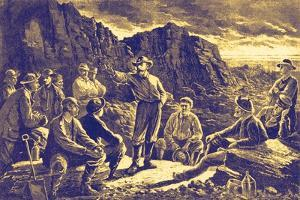 Coal miners, Pennsylvania, America by Paul Frenzeny