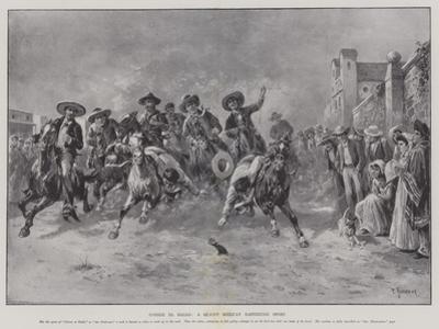 Correr El Gallo, a Quaint Mexican Eastertide Sport