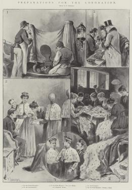 Preparations for the Coronation by Paul Frenzeny
