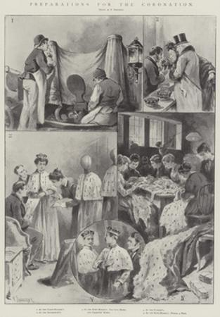 Preparations for the Coronation