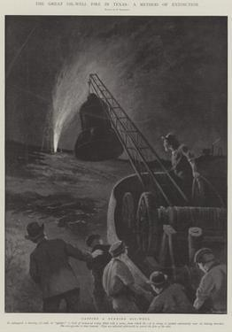 The Great Oil-Well Fire in Texas, a Method of Extinction by Paul Frenzeny
