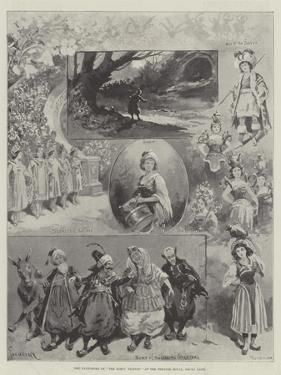 The Pantomime of The Forty Thieves at the Theatre Royal, Drury Lane by Paul Frenzeny