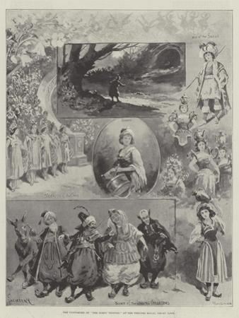 The Pantomime of The Forty Thieves at the Theatre Royal, Drury Lane