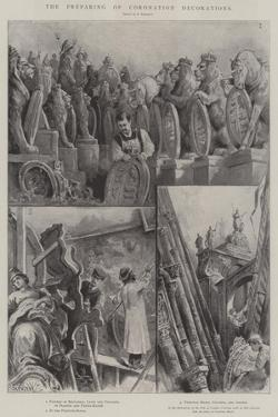 The Preparing of Coronation Decorations by Paul Frenzeny