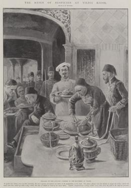 The Reign of Suspician at Yildiz Kiosk by Paul Frenzeny