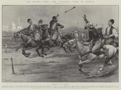 The Shah's Visit, the National Game of Persia