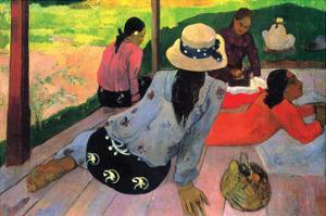 Afternoon Quiet Hour by Paul Gauguin