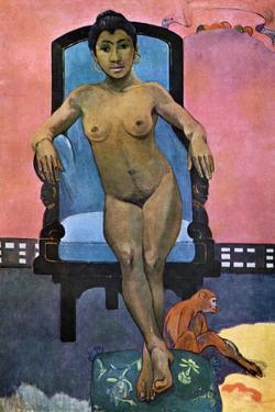 Aita Tamari Vahina Judith Te Parari' (Annah the Javanes), 1893 by Paul Gauguin