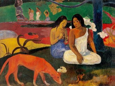 Arara (Jokes) by Paul Gauguin