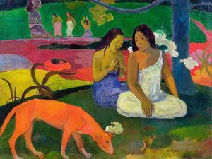 Arearea, 1892 by Paul Gauguin