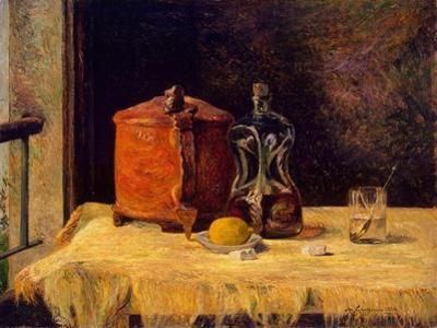 At the Window, 1882 by Paul Gauguin