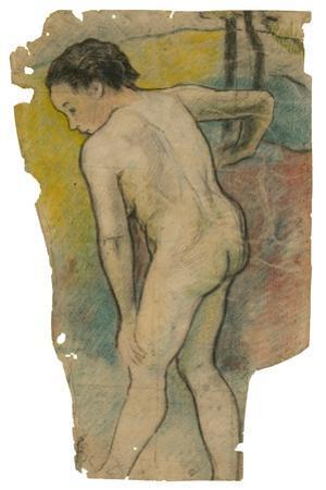 Breton Bather, 1886-87 by Paul Gauguin