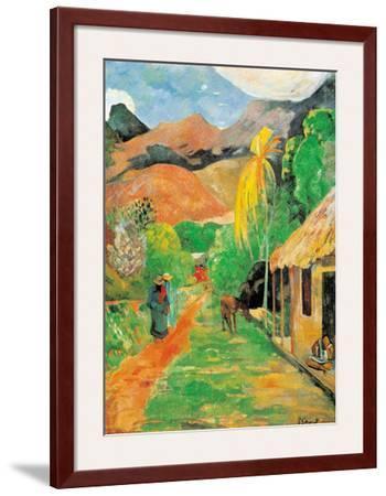 Chemin a Papeete by Paul Gauguin