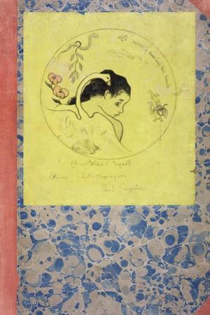 Design for a Plate - Leda, 1889 by Paul Gauguin