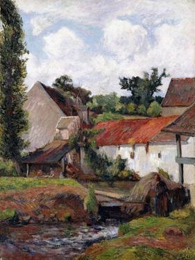 Farm at Osny, 1883 by Paul Gauguin