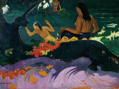 Fatata Te Miti, 1892 by Paul Gauguin