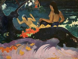Fatata Te Miti (By the Sea) 1892 by Paul Gauguin