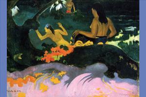 Fatata Te Miti by Paul Gauguin