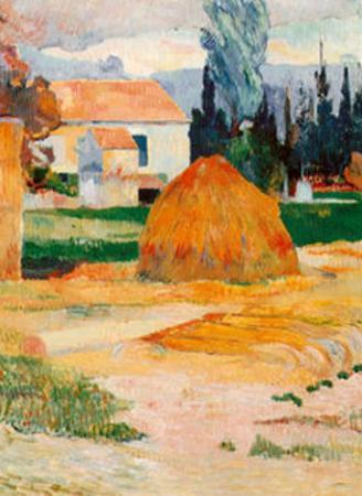 Ferme a Arles by Paul Gauguin