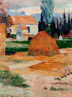 Ferme a Arles by Paul Gauguin
