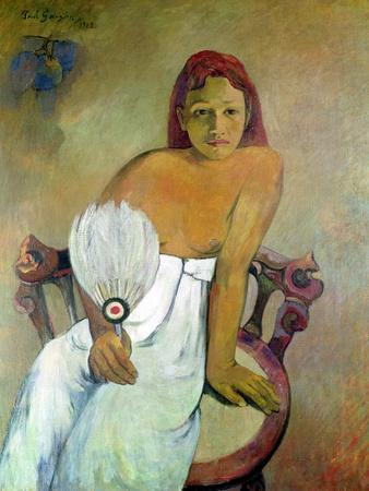 Girl with Fan, 1902