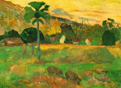 Haere Mai by Paul Gauguin