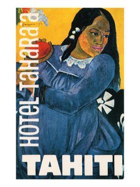 Hotel Tahara'a, Tahiti, c.1892 by Paul Gauguin