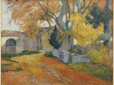 L'Allee Des Alyscamps by Paul Gauguin