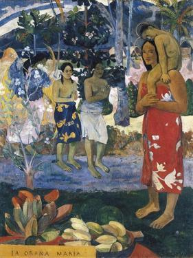 La Orana Maria (Hail Mary) by Paul Gauguin