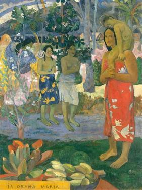 la Orana Maria (Hail Mary) by Paul Gauguin