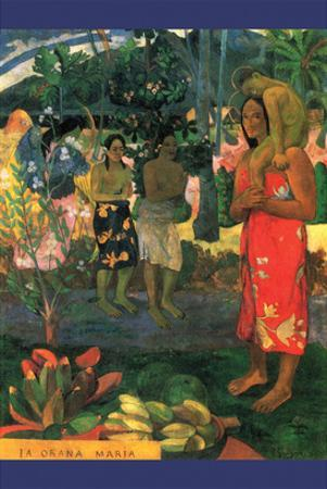 La Orana Maria by Paul Gauguin