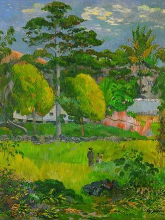 Landscape, 1901 by Paul Gauguin
