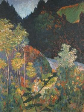 Landscape by Paul Gauguin