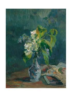 Lilacs, 1885 by Paul Gauguin
