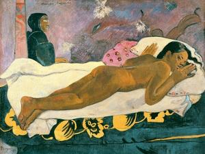 Manao Tupapau (The Spirit of the Dead Watches), 1892 by Paul Gauguin