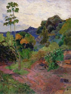 Martinique Landscape, 1887 by Paul Gauguin