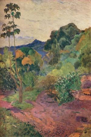 'Martinique Landscape', 1887 by Paul Gauguin