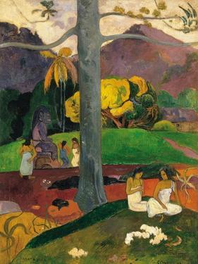 Mata Mua (In Olden Time), 1892 by Paul Gauguin