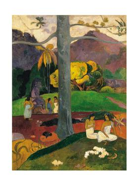 Mata Mua (In Olden Time), 1892 by Paul Gauguin