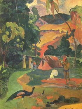 Matamoe, 1892 by Paul Gauguin