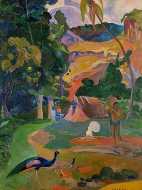 Matamoe (Peacocks in the Country), 1892 by Paul Gauguin