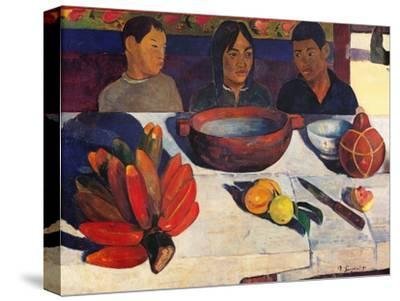 Meal, Bananas by Paul Gauguin