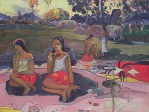 Nave Nave Moe, 1894 by Paul Gauguin