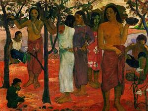Nave Nave Nahana (Delicious Day), 1896 by Paul Gauguin