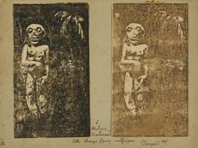 Oviri by Paul Gauguin