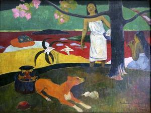 Pastorales Tahitiennes, 1892 by Paul Gauguin