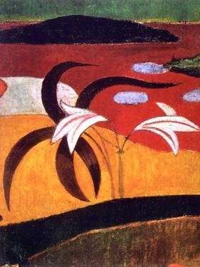 Pastorales Tahitiennes' (Detail), 1892 by Paul Gauguin