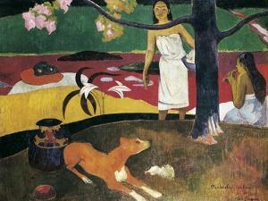 Pastorales Tahitiennes by Paul Gauguin