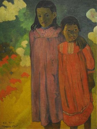 Piti Teina, 1892 by Paul Gauguin