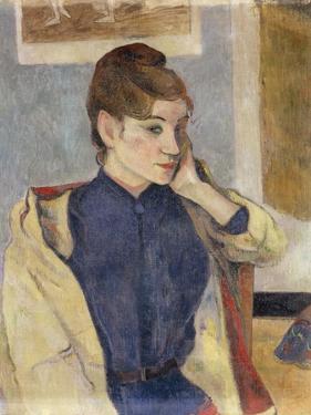 Portrait of Madeleine Bernard, 1888 by Paul Gauguin